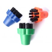 Set of 3 colour nylon brushes - Polti